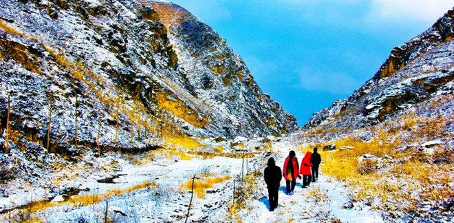 安定区李家峡景区首届冰雪旅游节暨试运营