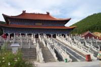 清皇室发祥地鄂多里城现在的敦化市