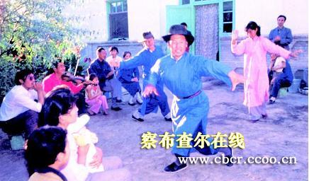 锡伯族民间音乐、舞蹈精彩荟萃