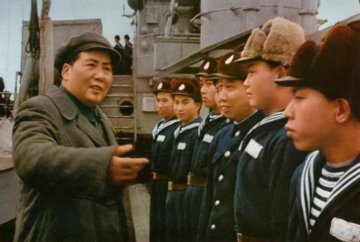 值得珍藏的毛主席老照片