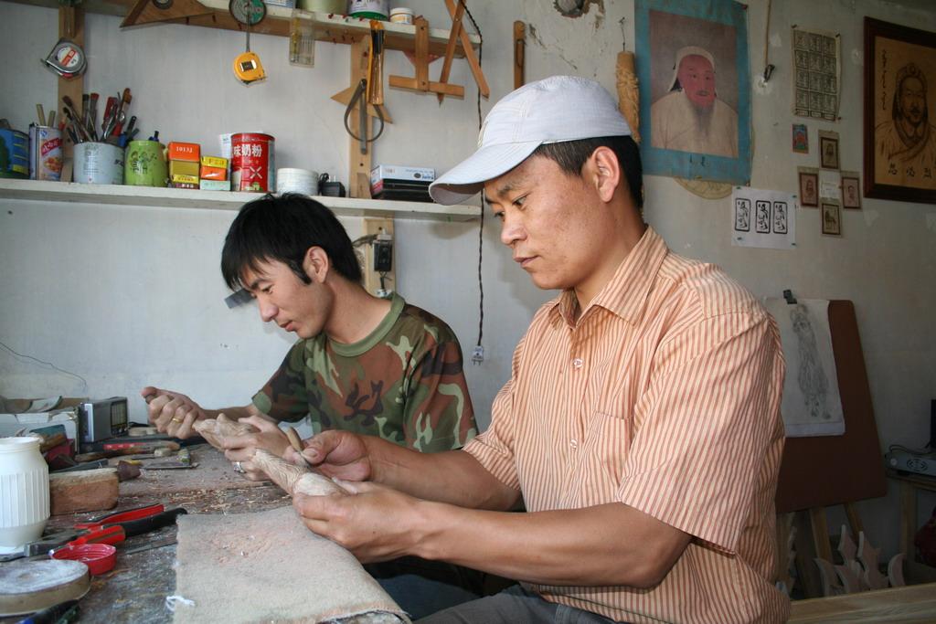 蒙古族民间艺人苏龙嘎作品欣赏
