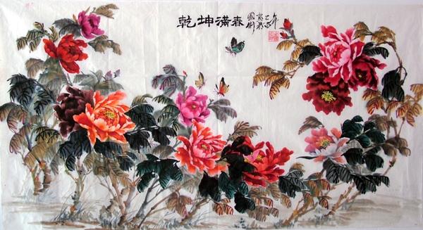 2004年5月,在贵州省黔东南州举办首届中小学教师美术作品大赛中,他的图片
