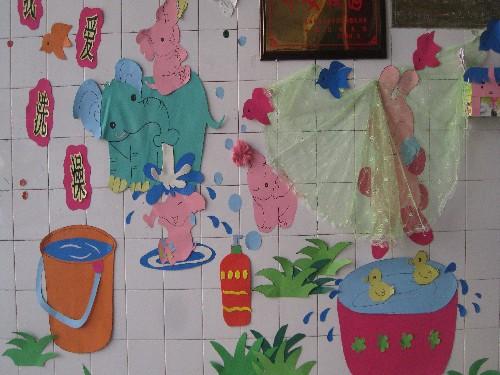机关幼儿园举行环境创设比赛