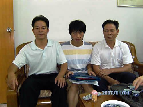 揭西县高考状元刘喜声与初三同学交流学习体会
