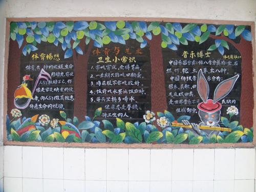 学前班安全黑板报设计图案大全展示