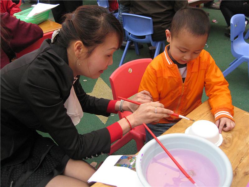 幼儿园环保亲子手工比赛作品集图片