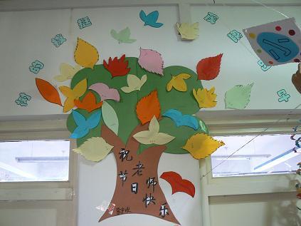 幼儿园中班主题墙简单