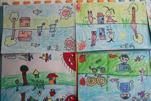分析幼儿绘画作品_分析幼儿绘画作品分享展示